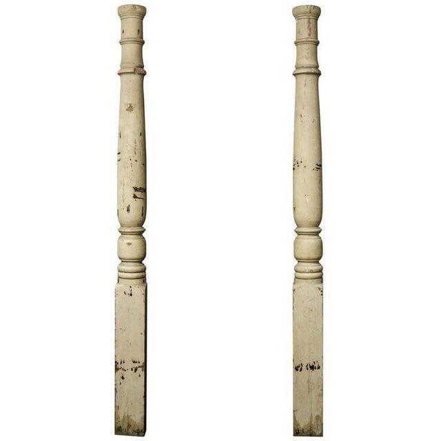 Pr. American Facade Half Columns For Sale - Image 10 of 10