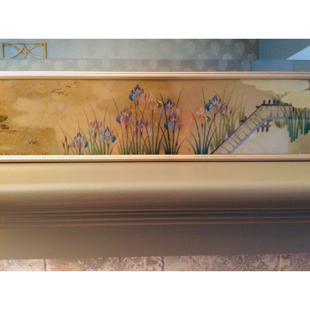 Metal 1980s La Barge Chinoiserie Mirror For Sale - Image 7 of 13