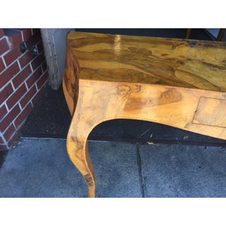Spalted Elm Console Table Preview