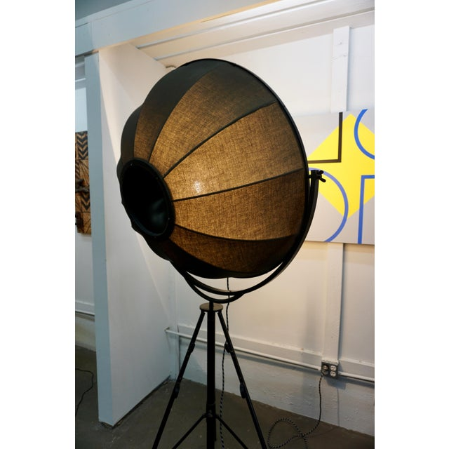 Mario Fortuny Umbrella Floor Lamp by Pallucco For Sale In Palm Springs - Image 6 of 8