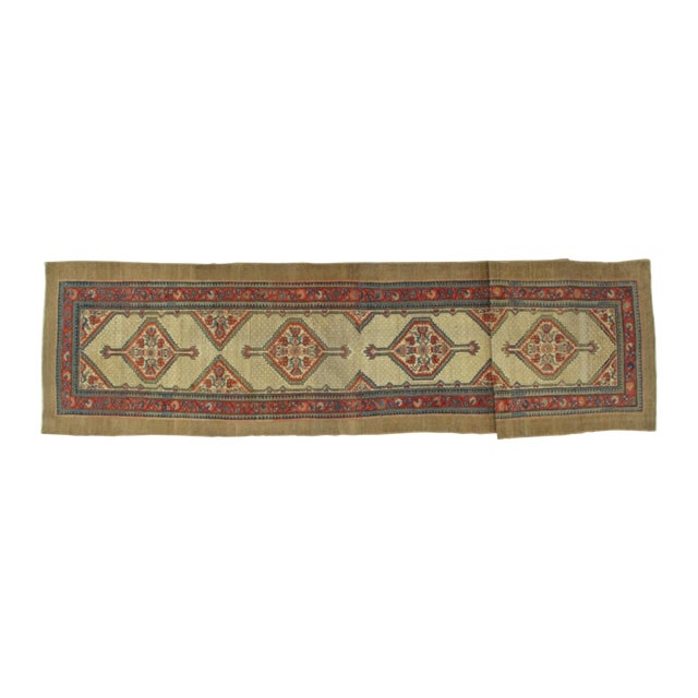 "Leon Banilivi Antique Sarab Runner - 3'5"" X 16' - Image 1 of 7"