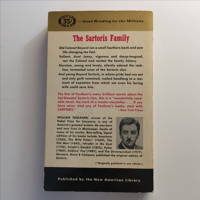 Sartoris by William Faulkner, 1953 First Printing - Image 3 of 5