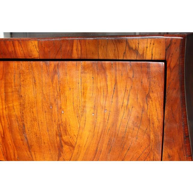 Mid-Century Italian Olive Wood Commode - Image 7 of 11