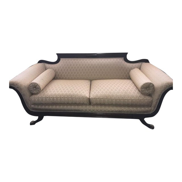 Duncan Phyfe Mahogany Settee For Sale