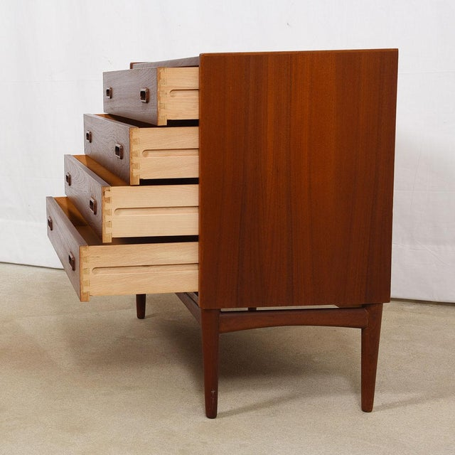 Arne Hovmand-Olsen for Mogens Kold Teak Petite Chest For Sale In Washington DC - Image 6 of 7