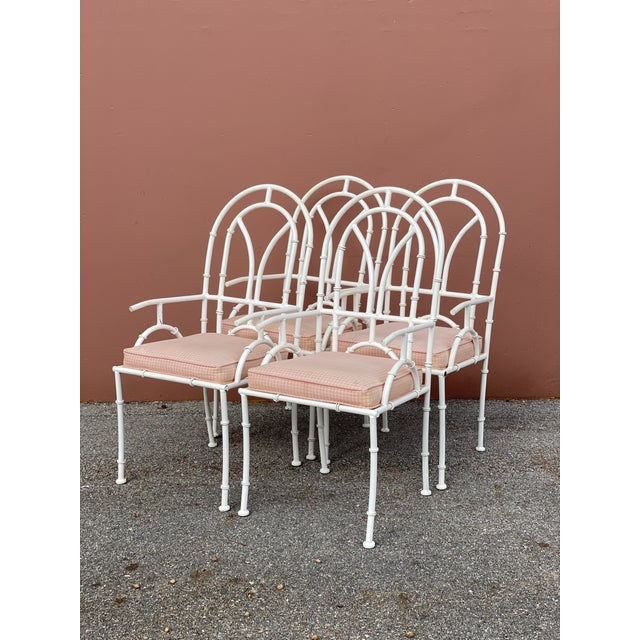 Vintage MCM Kessler Cast Aluminum Dining Chairs - Set of 4 For Sale In Miami - Image 6 of 7