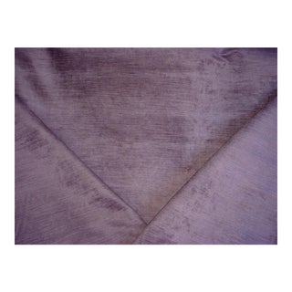 Designers Guild Mesilla Thistle Lilac Purple Velvet Upholstery Fabric - 2 Yards For Sale