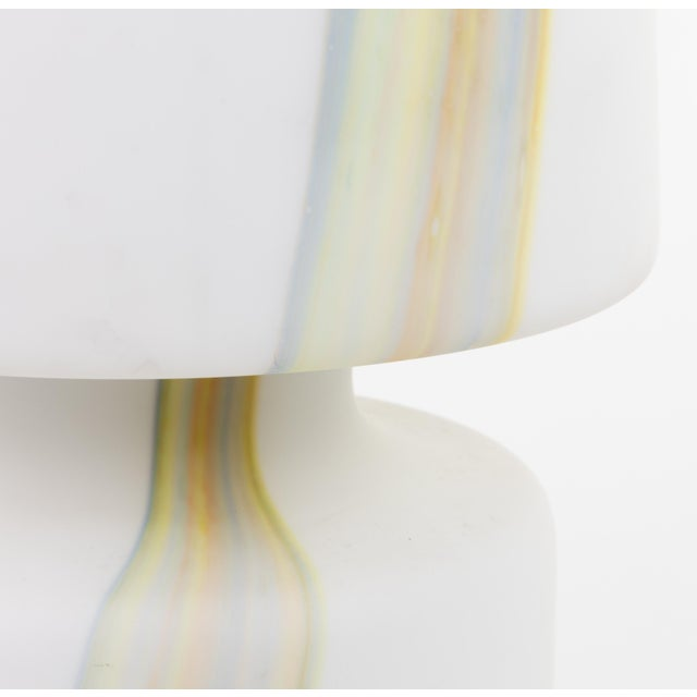 Contemporary Vintage Murano Hand Blown Laurel Lamp Co. Glass Table Lamp For Sale - Image 3 of 5