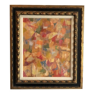 Vintage Abstract by Frederick Lyman (1925-2011) For Sale