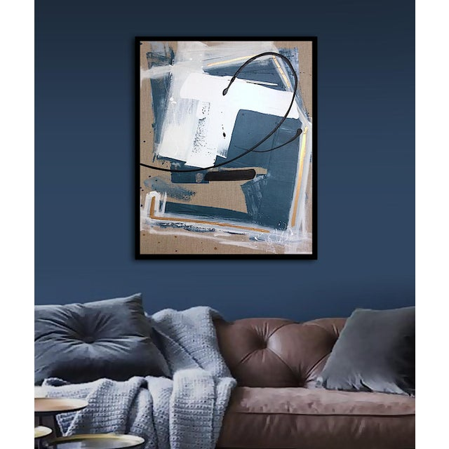 'GEHRY' original abstract painting by Linnea Heide - Image 3 of 8