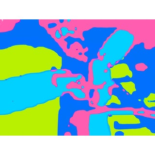 Abstract Suga Lane Untitled 3805-79 Limited Edition Print For Sale