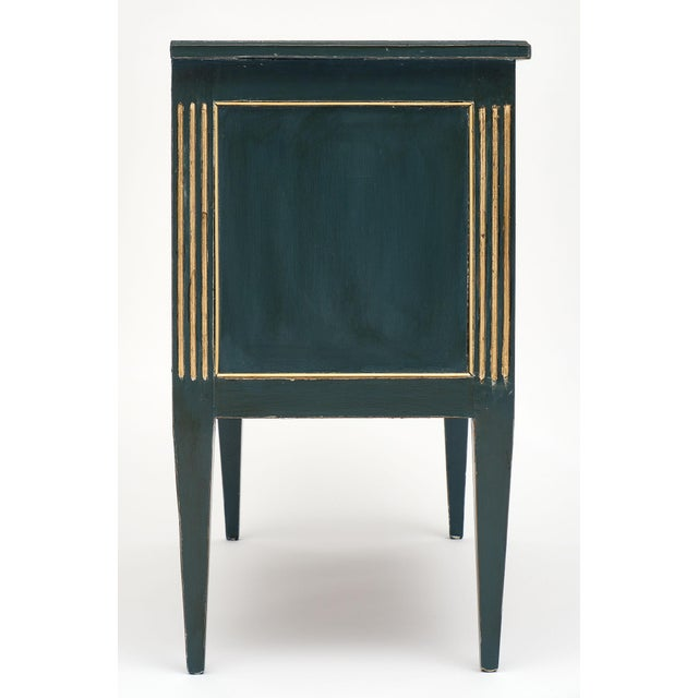 Antique French Louis XVI Style Painted Walnut Chest For Sale In Austin - Image 6 of 9