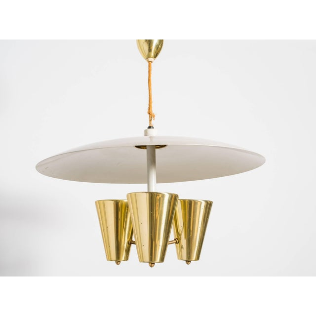Mid-Century Modern Edward Wormley for Lightolier Fixture For Sale - Image 3 of 10