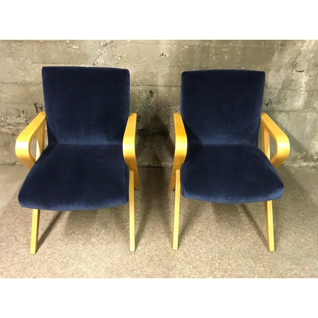 1940s Vintage Thonet Bentwood Armchairs - a Pair For Sale - Image 9 of 13
