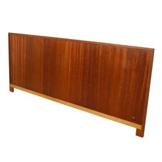 Danish Modern King Size Headboard in Teak by Falster For Sale