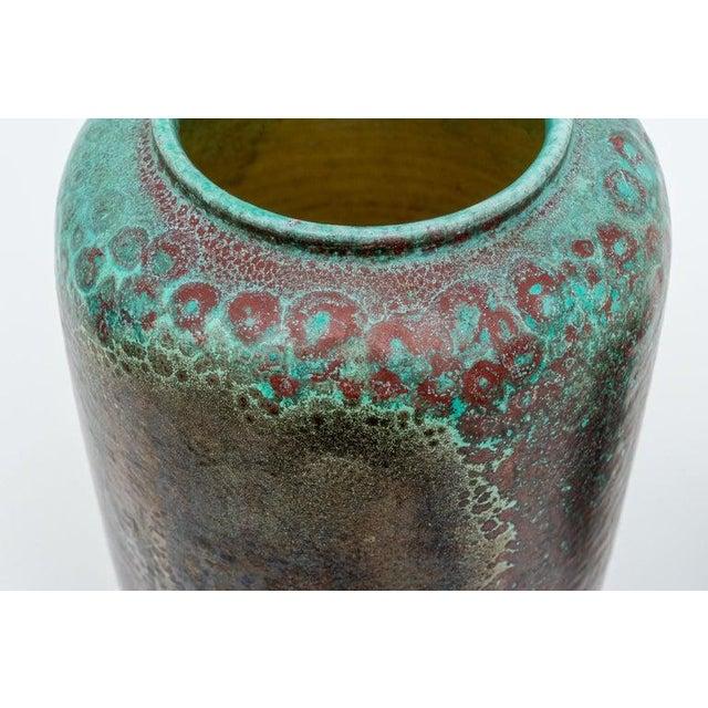 1940s Glazed Pottery Vases by Richard Uhlemeyer, 1940s - Set of 2 For Sale - Image 5 of 13