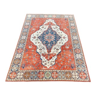 1990s Persian Serapi Rug - 10′ × 13′9″ For Sale