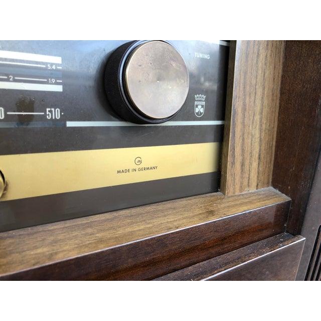 Mid Century Fully Restored Ks650u Grundig Record Credenza For Sale - Image 9 of 13