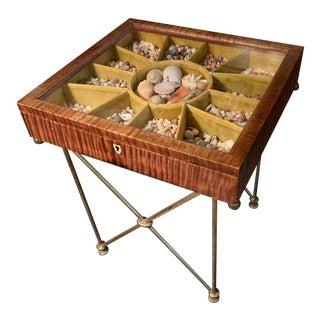 Tiger Maple Collectors Box For Sale
