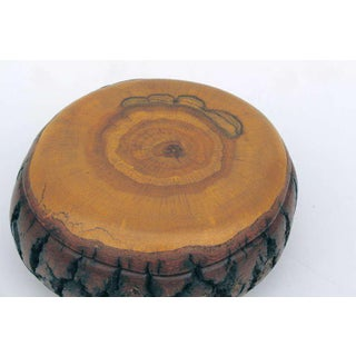 Hand Turned Wood Bowl Box With Fitted Cover Preview