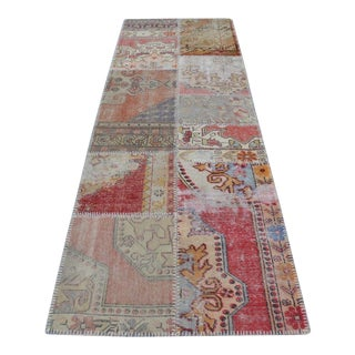 Turkish Oushak Anatolian Floor Runner Rug - 2′11″ × 9′