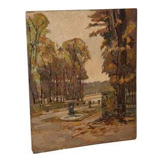 Antique Versailles Automne French Painting