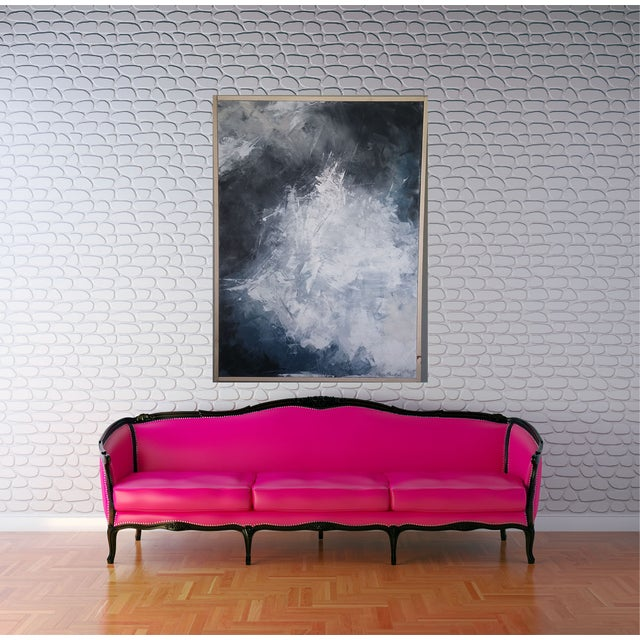 """""""Layered Clouds"""" Framed Abstract Art by Kris Gould - Image 5 of 6"""