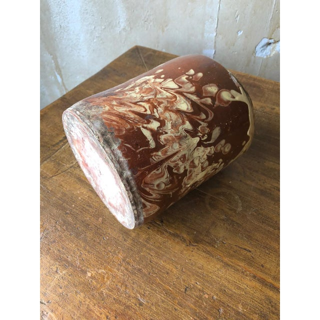 Antique Pugliese Marbleized Canister For Sale In Kansas City - Image 6 of 10