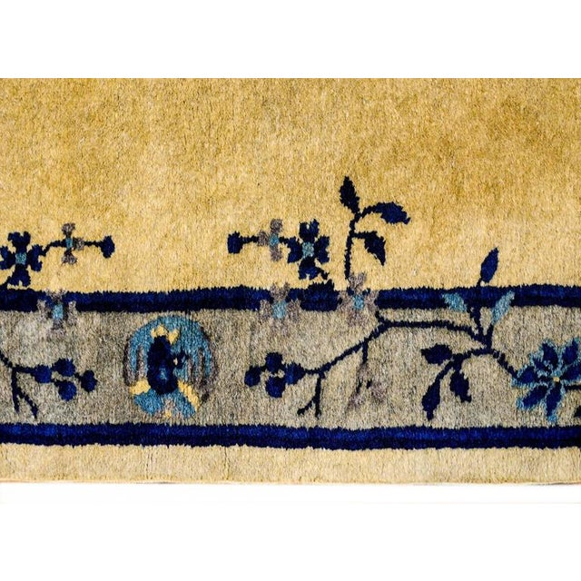 Early 20th Century Chinese Art Deco Rug - 2′ × 4′ - Image 4 of 5