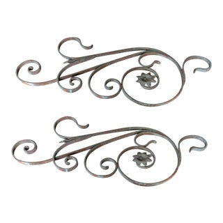 Antique Victorian Iron Architectural Salvage - A Pair For Sale