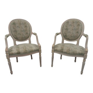 1960s Vintage Adams-Style Armchairs - a Pair For Sale