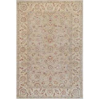 """Mansour Quality Handwoven Agra Rug - 6' X 8'10"""" For Sale"""