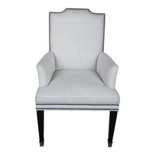 Vintage Safavieh Upholstered Dining Accent Chair For Sale
