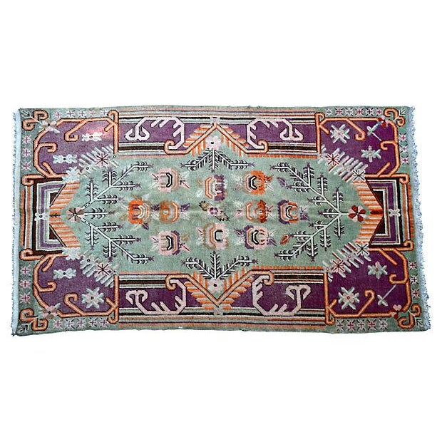 "Early-20th-C. Samarkand Rug - 8'9"" X 5' - Image 1 of 4"