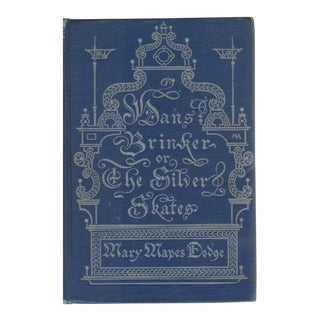"""1924 """"Hans Brinker or the Silver Skates: A Story of Life in Holland"""" Collectible Book For Sale"""