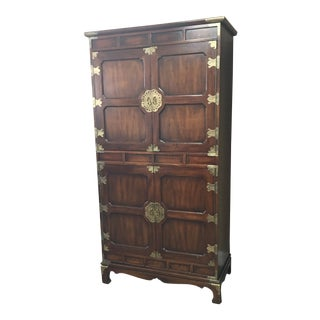 1970s Vintage Henredon Armoire For Sale