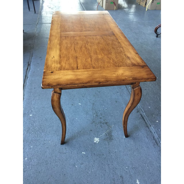 2000s French Provincial Style Writing Desk For Sale - Image 5 of 10