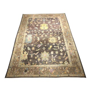 "Bellwether Rugs ""Miguel"" Colorful Oushak Rug - 10′3″ × 14′7″ For Sale"