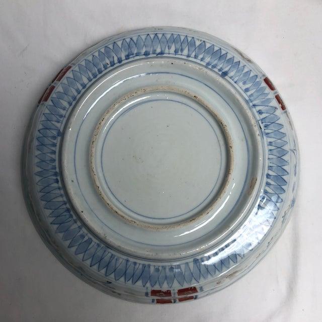 Ceramic 1940s Vintage Nesting Imari Bowls - Set of 3 For Sale - Image 7 of 13