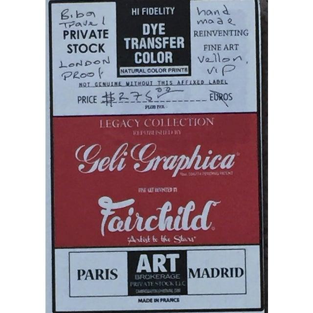 Limited Edition Coco Chanel Paris Art Print