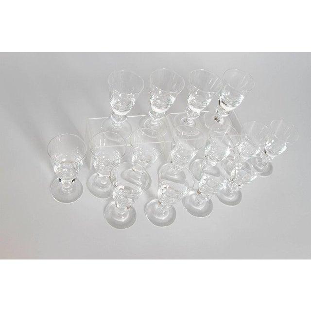 Set of Fifteen (15) Steuben Baluster Water Goblets For Sale - Image 11 of 12