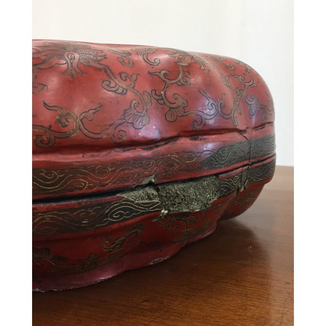 Antique Asian Sewing Box For Sale - Image 4 of 11