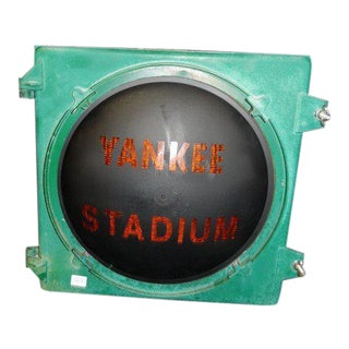 Yankee Stadium Iron Pole Lantern