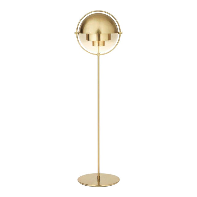 Brass Louis Weisdorf 'Multi-Lite' Floor Lamp For Sale