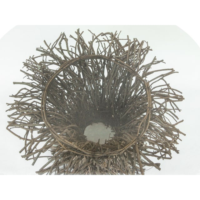Wood Willow Twig Table Base For Sale - Image 7 of 9