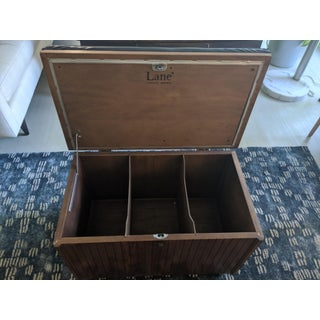 1970's Vintage Lane Furniture Record Storage Bench Preview