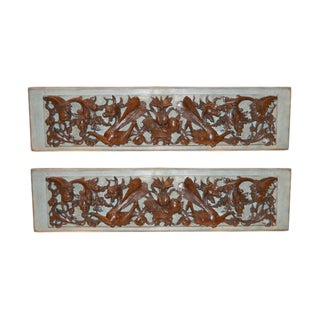 18th C. Italian Carved Walnut Mounted Fragments For Sale
