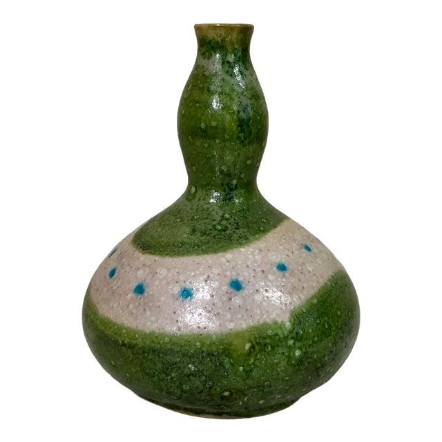 1950s Vintage Signed Guido Gambone Italian Pottery Vessel