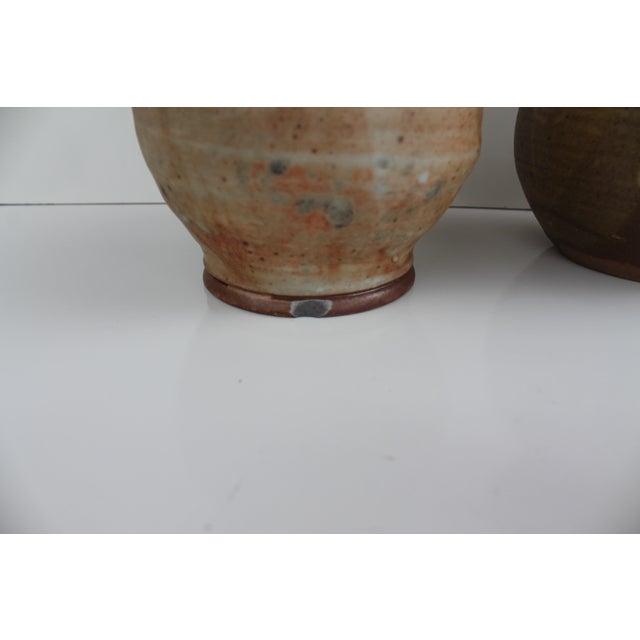 Evan Jon Designer Studio Art Pottery - Pair For Sale - Image 5 of 9