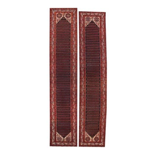 Antique Persian Malayer Runners with Traditional Modern Style - A Pair For Sale